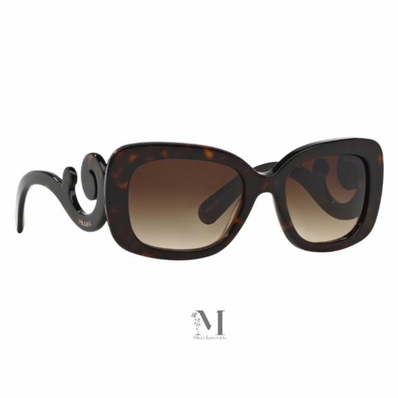 14e00efb3a0 Prada Minimal Baroque Square Sunglasses